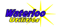 Waterloo Utilities logo - links to Home